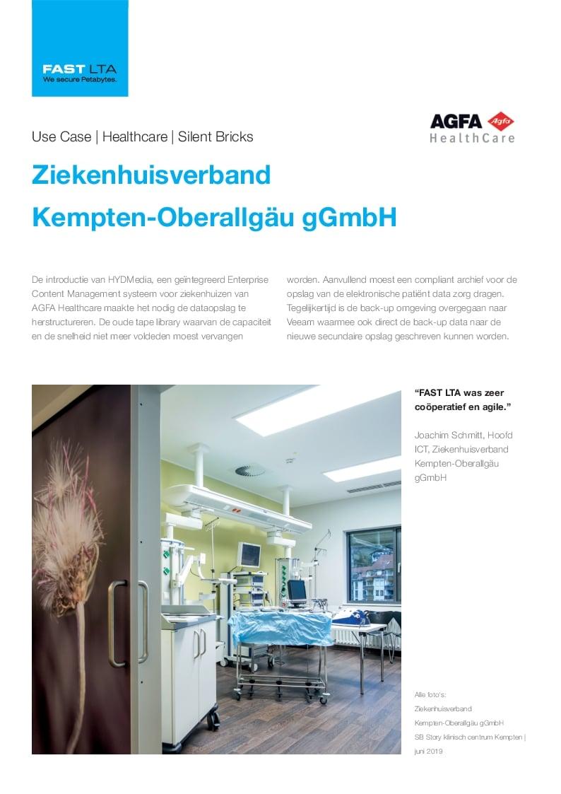 Ziekenhuisverband Kempten - back-up en archief