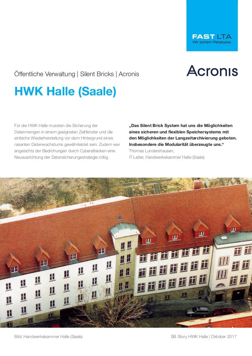Referentie KvK Halle Acronis