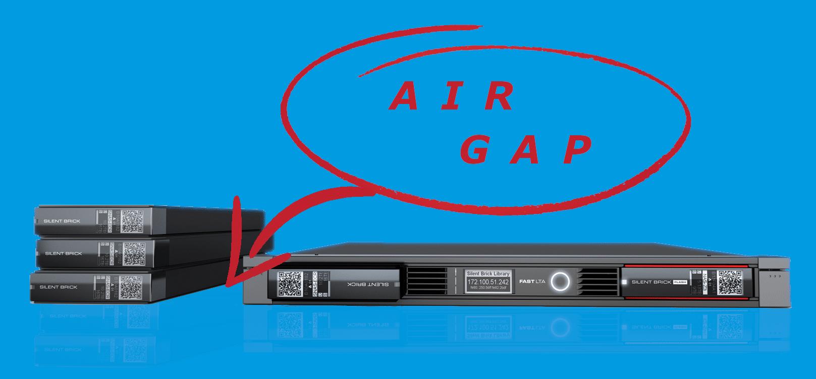 Air-Gap Silent Brick
